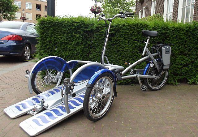 trap fiets voor ouderen